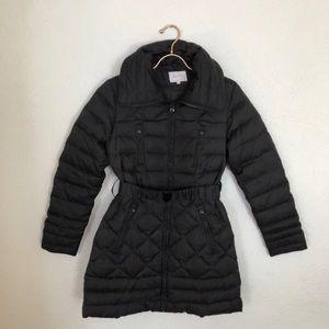 Laundry By Shelli Segal Black Puffer Jacket
